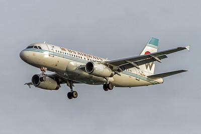 USAirways, N828AW, Airbus A319-132, msn 1552, Photo by John A Miller, TPA, Image AB055LAJM