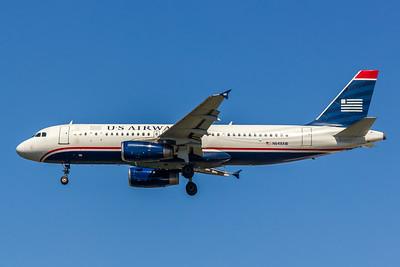 USAirways, N648AW, Airbus A320-232, msn 770, Photo by John A Miller, TPA, Image T086LAJM