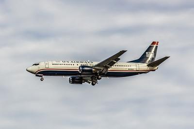 USAirways, N433US, Boeing 737-4B7, msn 24555, Photo by John A Miller, TPA, Image L025LAJM