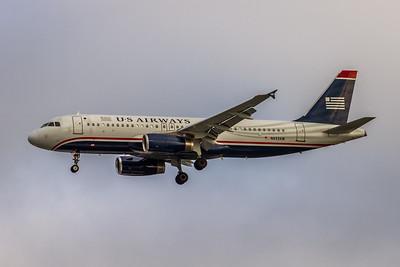 USAirways, N633AW, Airbus A320-231, msn 082, Photo by John A MIller, CLT-TPA, Image T105LAJM