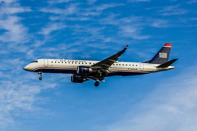 USAirways, N965UW, Embraer ERJ-190AR, msn 19000198, Photo by John A Miller, TPA, Image YB004LAJM
