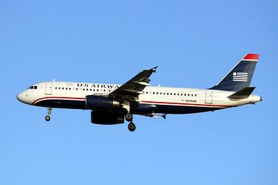 USAirways, N676AW, Airbus A320-232, msn 2422, Photo by John A. Miller, TPA, Image T044LAJM