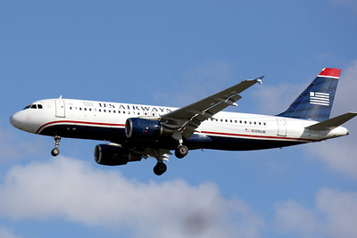 USAirways, N109UW, Airbus a320-214, msn 1065, TPA, Photo by John A. Miller, TPA, Image T043LAJM