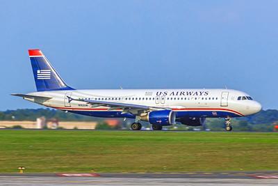 USAirways, N102UW, Airbus A320-214, msn 844, Photo by John A Miller, CLT, Image T126RGJM