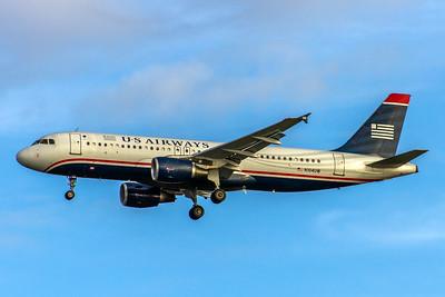 USAirways, N104UW, Airbus A320-214, msn 863, Photo by John A Miller, TPA, Image T089LAJM, Image T089LAJM