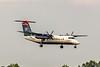 USAirways Express, N336EN, De Havilland DHC-8-311 Dash 8, msn 336, Photo by John A Miller, CLT, Image QQ018LAJM
