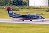 USAirways  Express, N337EN, DeHavilland DHC-8-311 Dash 8, msn 284, Photo by John A Miller, CLT, Image QQ019RGJM