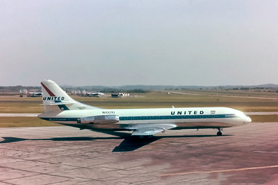 United Airlines, N1001U, SE210 Caravelle VIR, msn 86, Photo by Steve Pinnow Collection, Image DD002RGSP