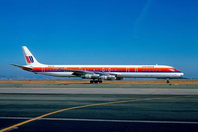 United Airlines, N8072U, Douglas DC-8-71, msn 45812, Photo by Andrew Abshier, Image B002RGAA