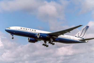 United Airlines, N775UA, Boeing 777-222(ER), msn 26947, Photo by Photo Enrichments Collection, Image PP049LAJC