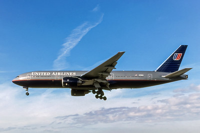United Airlines, N789UA, Boeing 777-222(ER), msn 26935, Photo by Photo Enrichments Collection, Image PP003LAJC