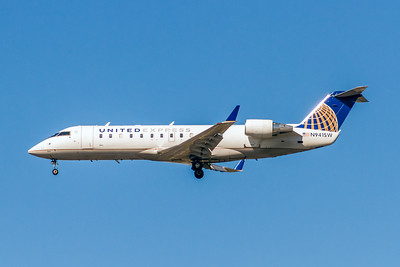United Express (Sky West Airlines), N941SW, CRJ200ER, msn 7750, Photo by John A Miller, LAX, Image YY022LAJM