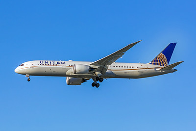 United Airlines, N27959, Boeing 787-9 Dreamliner, msn 36407, Photo by John A Miller, LAX, Image PA003LAJM