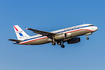 United Airlines, N475UA, Airbus A320-232, msn 1495, Photo by John A Miller, TPA, Image T128RAJM