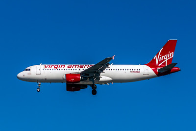 "Virgin America, N622VA, Airbus A320-214, msn 2674, Photo by John A Miller, LAX, Image T138LAJM, ""California Dreaming"""