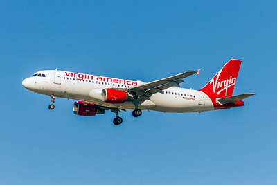 Virgin America, N621VA, Airbus A320-214, msn 2616, Photo by John A Miller, LAX, Image T144LAJM