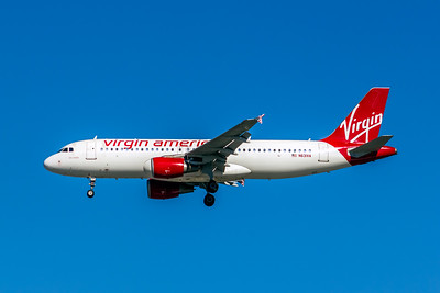Virgin America, N631VA, Airbus A320-214, msn 3135, Photo by John A Miller, LAX, Image T139LAJM