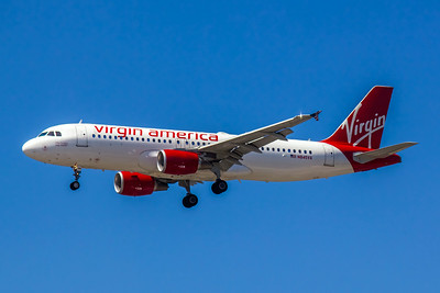 Virgin America, N845VA, Airbus A320-214, msn 4867, Photo by John A Miller, LAX, Image T079LAJM