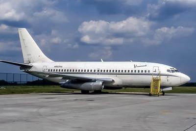 Viscount Air Service, N303VA, Boeing 737-247, msn 20125, Photo by John A Miller, GSO, Image J092RGJM