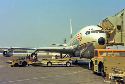 Western Airlines, Boeing 720-062, LAX, Photo by John Casperson, Image H017RGJN