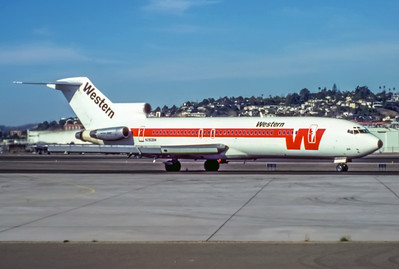 Western, N2808W, Boeing 727-247Adv, msn20580, Photo by Andrew Abshier, Image I012RGAA