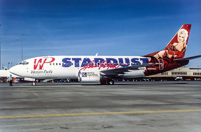 Western Pacific, N301AU, Boeing 737-301, msn 23229, Photo by Andrew Abshier, Image K034LGAA