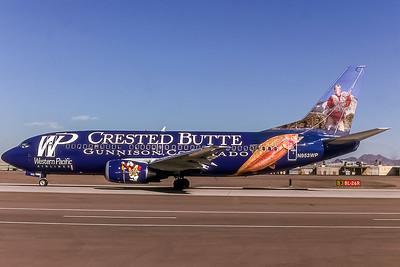 Western Pacific, N953WP, Boeing 737-3B7, msn 23384, Photo by Bob Shane, Image K075LGBS