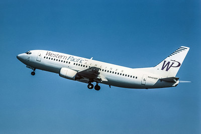 Western Pacific, N946WP, Boeing 737-317, msn 23173, Photo by Andrew Abshier, Image K038LGAA