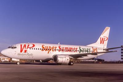 Western Pacific, N962WP, Boeing 737-3Y0, msn 23748, Photo by Bob Shane, Image K076LGBS