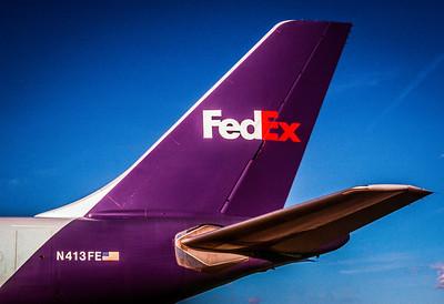 FedEx Airbus Tail