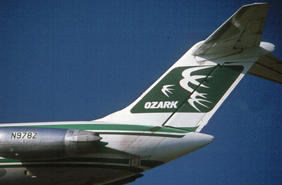 Ozark Airlines DC-9 Tail