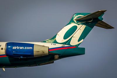 AirTran Airways 717 Tail