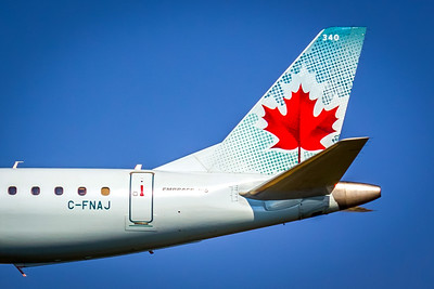 Air Canada ERJ190 Tail