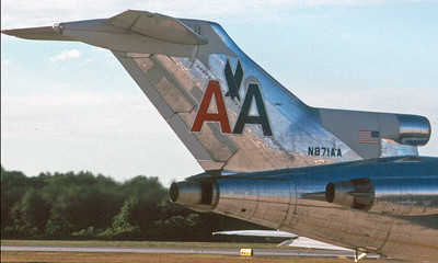 American AIrlines 727 Tail