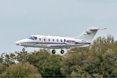 Corporate Jet, Giant Recreation World, N937RV, Raytheon 400A, msn 20161, Photo by John A Miller, Image YH001LAJM