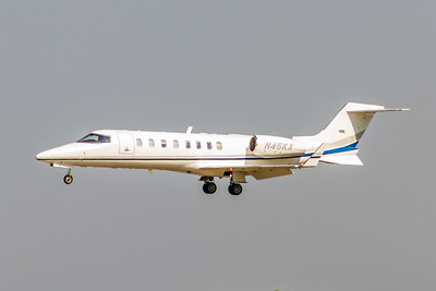 CarMax Auto Superstore, N45KX, LearJet 45, msn 233, Photo by John A Miller, TPA, Image YJ001LAJM