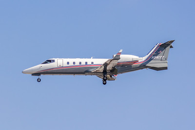 Salem Leasing Corp, N841TT, LearJet 60, msn 031, Photo by John A Miller, TPA, Image YJ002LAJM