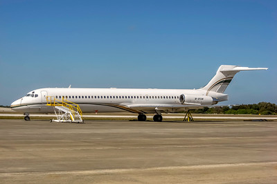 Montavachi Limited, M-SFAM, McDonnell Douglas MD-87, msn 53042, Photo by John A Miller, TPA, Image D081LGJM