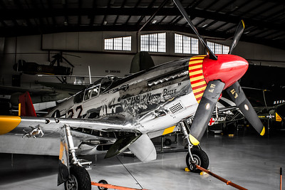 """P-51 Mustang """"INA the Macon Belle"""""""