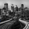 Minneapolis Skyline from the old 24th Street Bridge