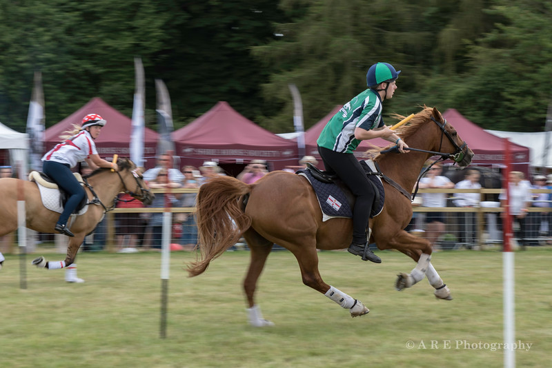 Pony club racing