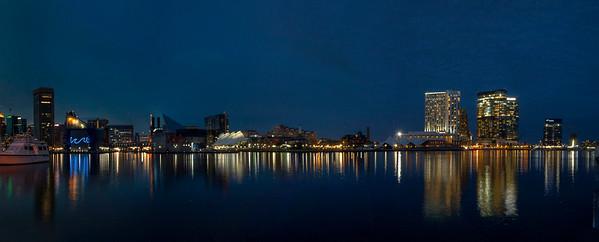 Baltimore Inner Harbor Pano