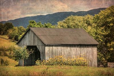 Textured Barn