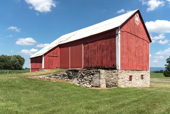 Star on the Barn