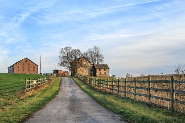Down The Farm Lane