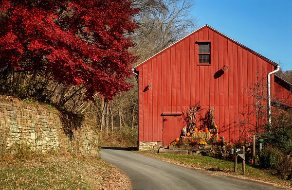 Eden Mill area Barn - Harford Co, MD