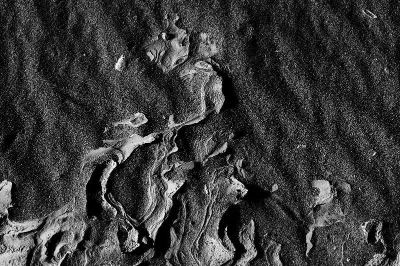 Sand Lava - BW