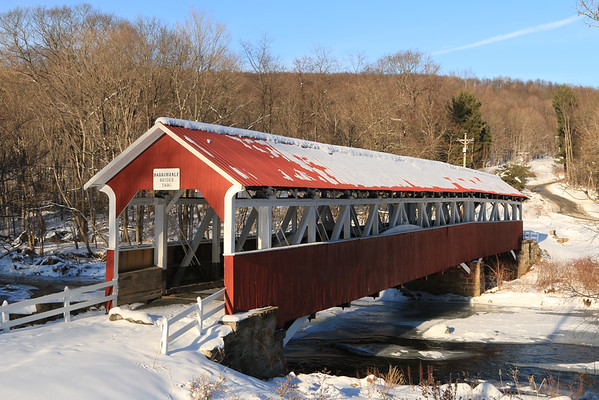 Barronvale Covered Bridge -- Somerset County, PA