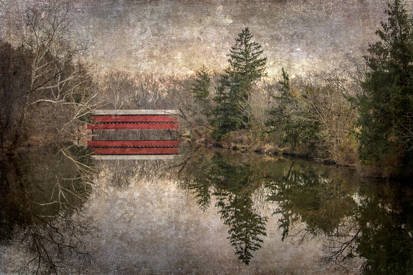 Sachs Covered Bridge Texture