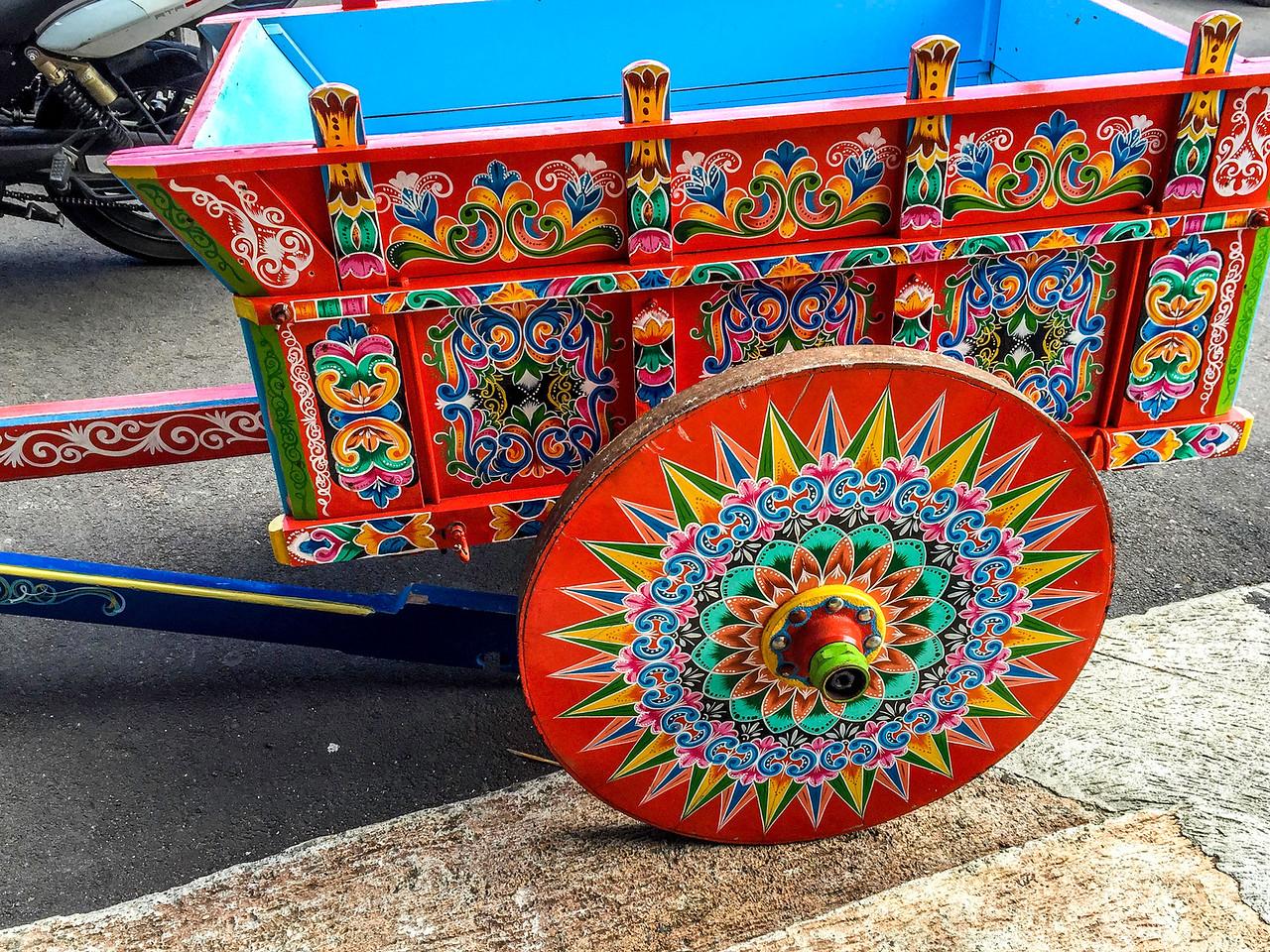 Costa Rican cart